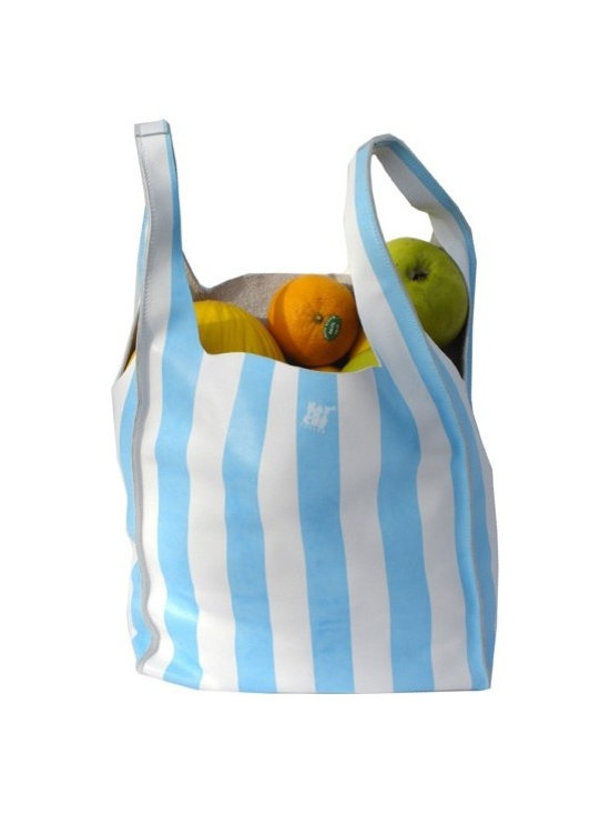 Grocery Bag - Blue -