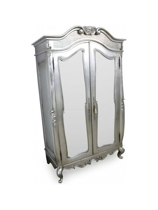 Chichi Furniture - Add a touch of French Style to you room with this stunning St Tropez wardrobe.