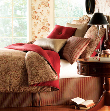 Astor Place Bedding Collection traditional-bedding