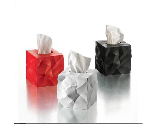 Crinkle Tissue Box by Essey of Finland -