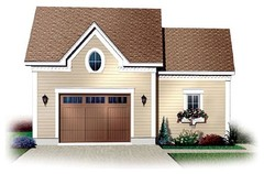 Garage Plan 65333 at FamilyHomePlans.com