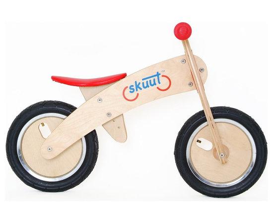 Diggin Active Skuut Wooden Balance Bike -