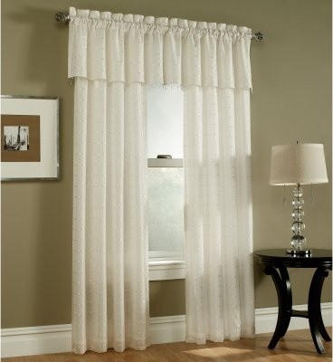 Lichtenberg Renee Box Voile Curtain Panel - modern - curtains - by ...