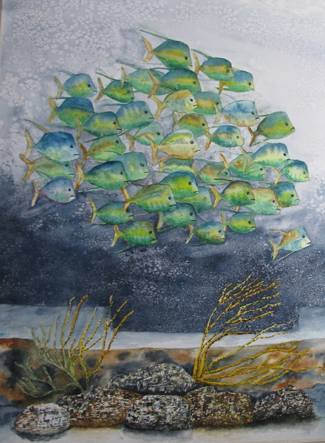 Fine Art watercolor paintings traditional-home-decor