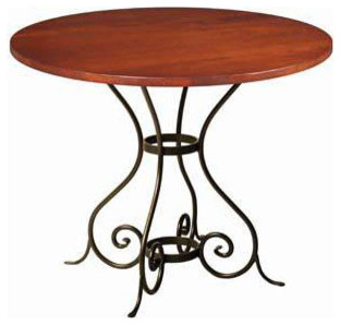 "Euro 36"" Round Dining Table by Charleston Forge eclectic-dining-tables"