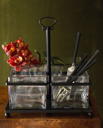 Flatware Caddy - traditional - flatware - by Horchow