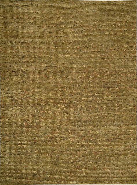 "Nourison Fantasia FAN1 5'6"" x 7'5"" Terracotta Rug traditional-rugs"