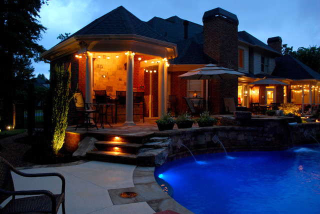 Pool and Poolhouse addition eclectic