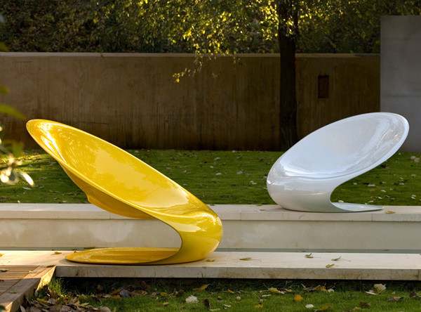 Disk Armchair by Karim Rashid contemporary-outdoor-lounge-chairs