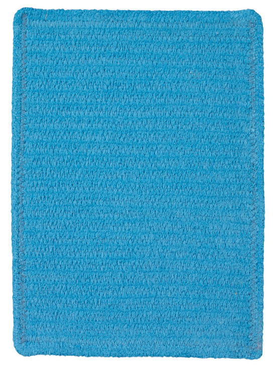 Chenille Creations rug in Ocean - Create a comfy, cozy, and custom-made braided rug with Capel's Chenille Creations.  Strands of plush, all-natural, ultra soft cotton chenille weave together to create a soft and vibrant room accent.