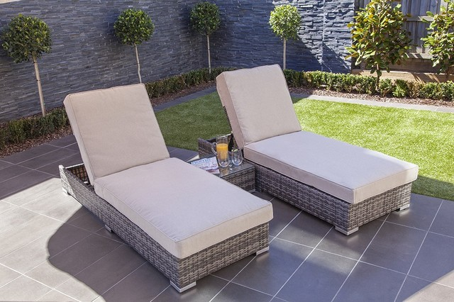 Moda Furnishings Salerno Outdoor Wicker Salerno Sun