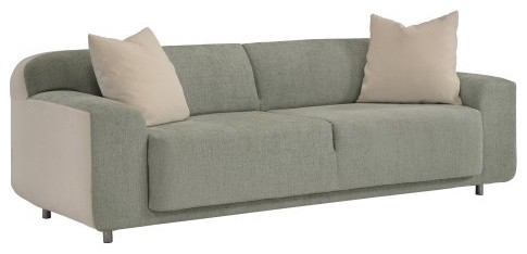 Lazar Kashmir Sofa with 2 21 in. Trillium Filled Pillows contemporary-sofas
