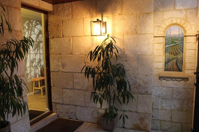 Brick house turned European Villa..well we think mediterranean-entry
