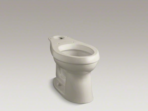 KOHLER Cimarron(R) Comfort Height(R) elongated toilet bowl with Class Five(R) fl contemporary-toilets