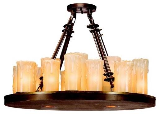 Plateau Chandelier traditional-pendant-lighting