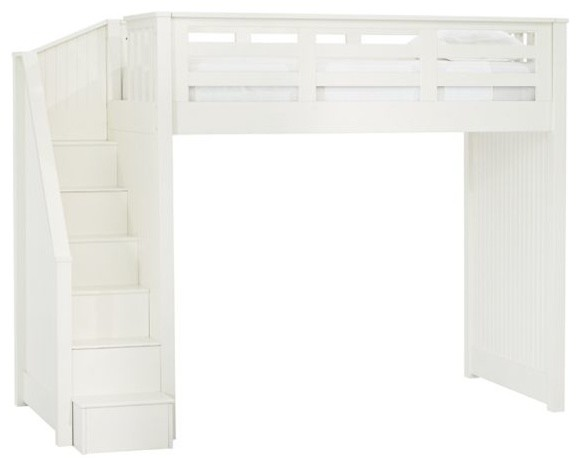 Catalina Stair Loft Bed Kids Beds Other Metro By
