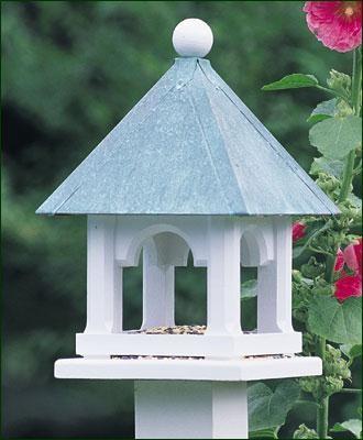 Lazy Hill Coppertop Mini Feeder traditional-bird-feeders