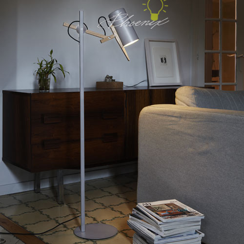 Scantling Floor Lamp modern-floor-lamps