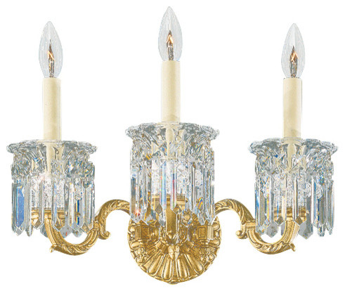 Schonbek Lighting 5018-22 Dorchester Heirloom Gold Wall Sconce traditional-wall-sconces
