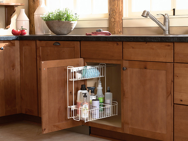 Sink Storage Pull Out - Kitchen Drawer Organizers - minneapolis - by Mid Continent Cabinetry