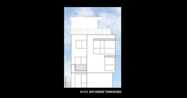 Residential / Multi-Family --  26th Avenue Townhouses