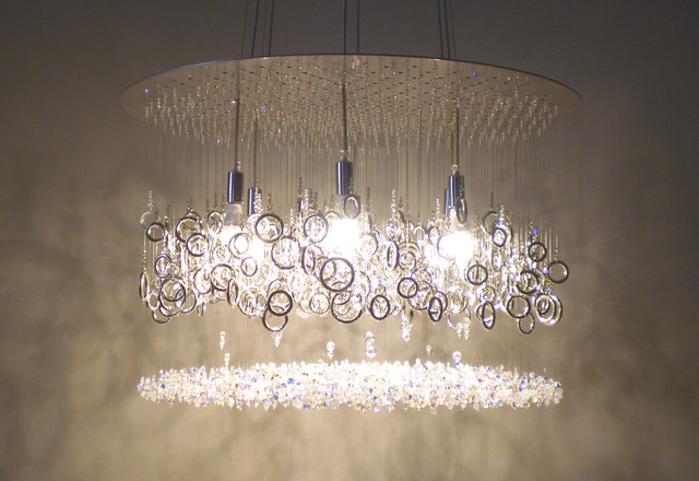 lather up! crystal chandelier modern chandeliers