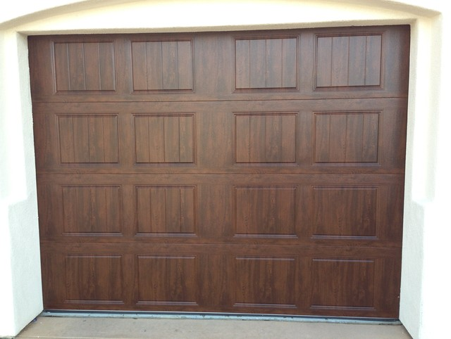Clopay gallery garage doors mediterranean garage doors for Clopay gallery ultra grain walnut