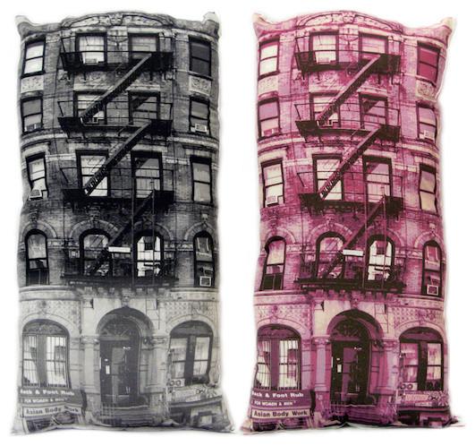 PG Brick Pillow eclectic-decorative-pillows