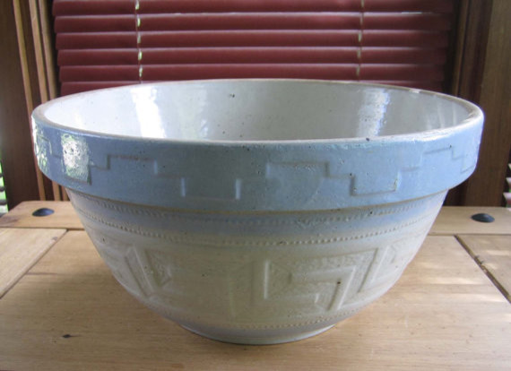 Stoneware Bowl by Janes Vintage Too contemporary-serving-utensils