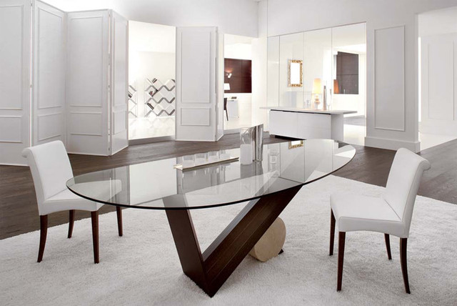 Valentino Dining Table By Cattelan Italia contemporary dining tables
