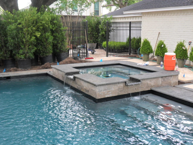 Contemporary Pool In Houston Texas