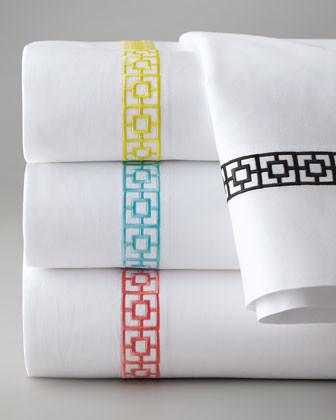 Trina Turk Queen Palm Springs Block Sheet Set traditional-sheet-and-pillowcase-sets