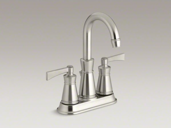 KOHLER Archer(R) centerset bathroom sink faucet with lever handles contemporary-bathroom-faucets-and-showerheads