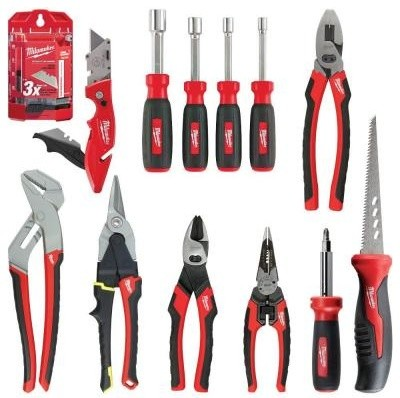 milwaukee ultimate hand tool combo set 13 piece 48 22 0002b contemporary gardening tools. Black Bedroom Furniture Sets. Home Design Ideas