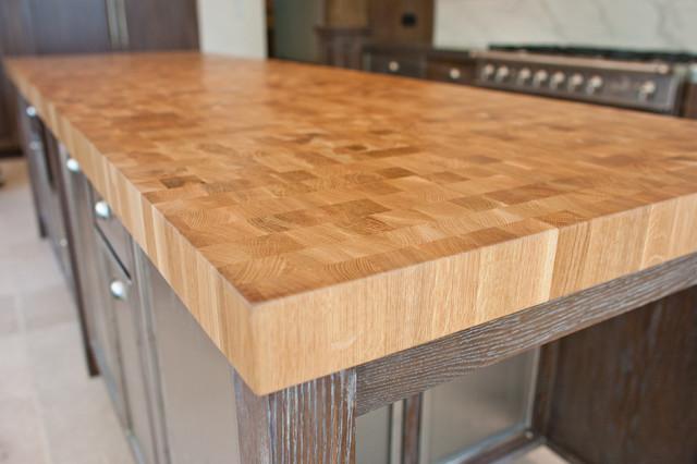 Houzz Countertop Materials : Wood Countertop modern-kitchen-countertops