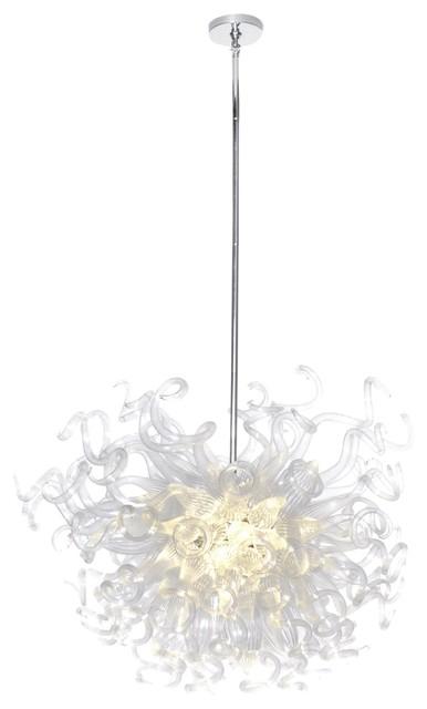 Maxim Lighting 39735CLPC Taurus LED Contemporary / Modern Pendant Light contemporary-pendant-lighting