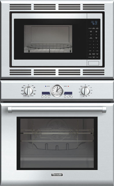 Thermadore Professional Series 30 inch Combination Wall Oven contemporary ovens