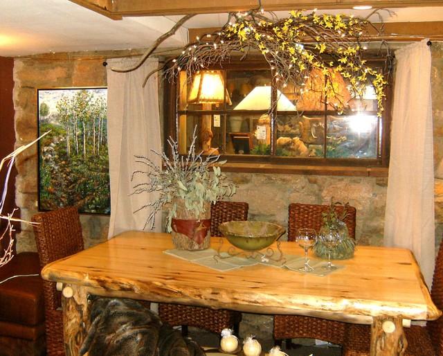 Staging A Furniture Showroom Rustic Denver By Affordable Design