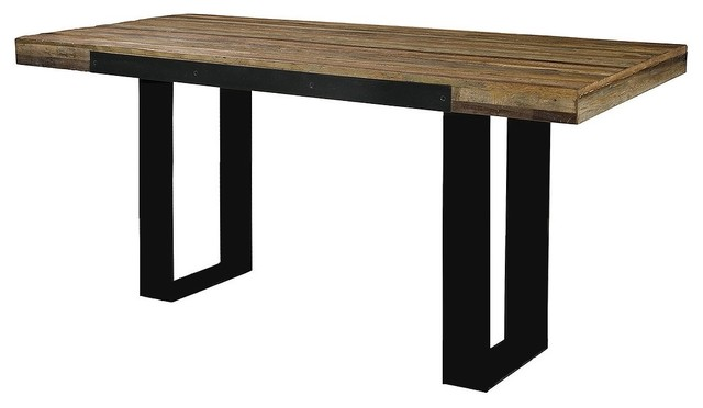 Industrial pub table industrial indoor pub and bistro - Table bar industriel ...
