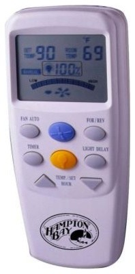 Hampton Bay LCD Display Thermostatic Remote Control 60001 - Contemporary - Thermostats - by Home ...