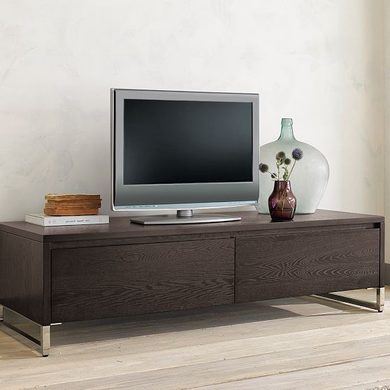 Hudson media console modern entertainment centers and Modern media console