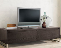 Hudson Media Console modern-entertainment-centers-and-tv-stands