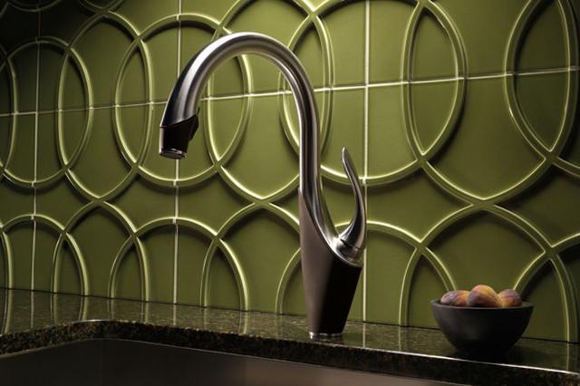 Robinet de cuisine - Kitchen faucet - Transitional ...