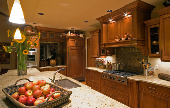 Street of Dreams traditional-kitchen-countertops