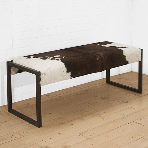 Moo Bench by Uhuru contemporary-indoor-benches