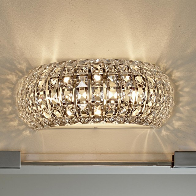 Arc Crystal Bath Light - lamp shades - by Shades of Light