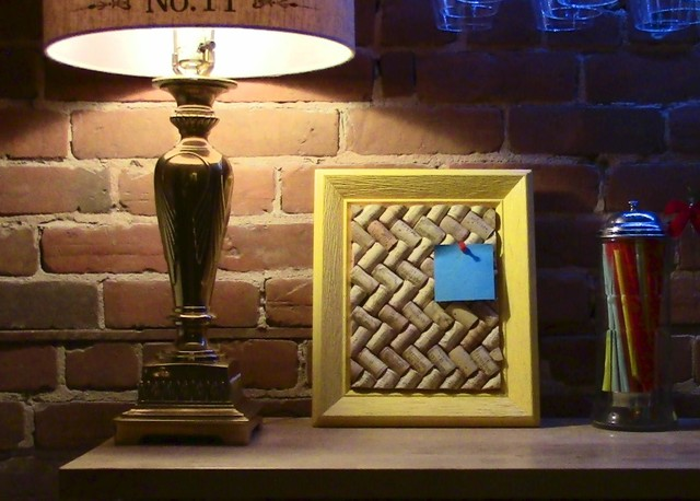 Corkboard eclectic-picture-frames