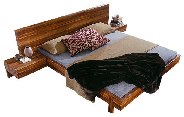 Gap Bed-Queen modern-beds