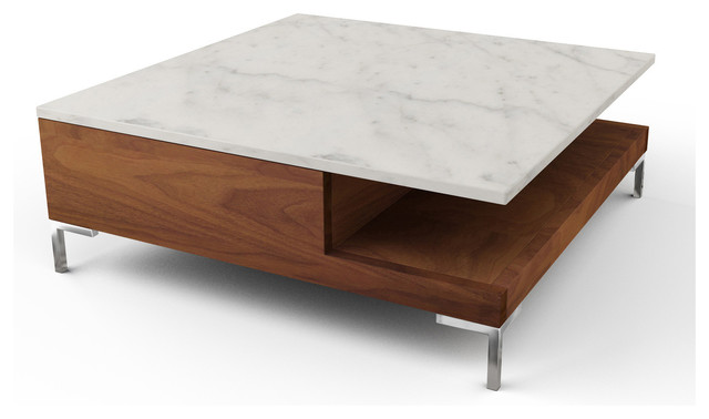 Sino square coffee tables modern coffee tables los angeles by viesso Contemporary coffee tables with storage