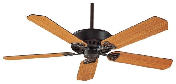 "Traditional 54"" Hunter Paramount New Bronze Ceiling Fan traditional-ceiling-fans"